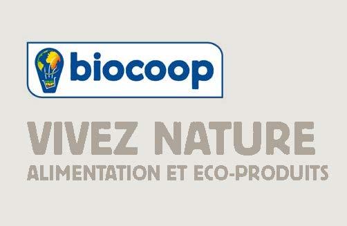 Pub Biocoop Inauguration Fronton Carte De Visite