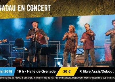 visuel concert Nadau