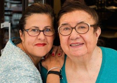 Huguette et Cathy